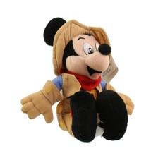 Disney Collectible Mickey Mouse Frontierland Magic Kingdom Bean Bag Plush 8 Park - $31.49