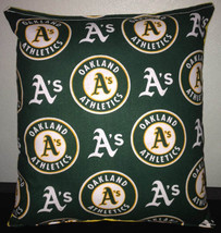 A's Pillow Oakland Athletics MLB Handmade in USA - $9.97