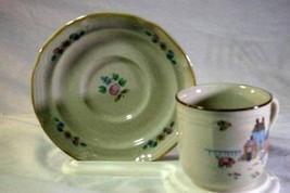 International China Heartland Coffee Cup And Saucer Set - $2.76
