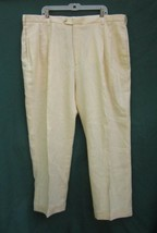 JOS. A. BANK LINEN PANTS Men's 43 / 30.5 TRAVELER'S COLLECTION Made in S... - $14.24