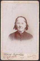 Mary Butterfield Gooder (1821-1894) Cabinet Photo - Burlington, Wisconsin - $19.75