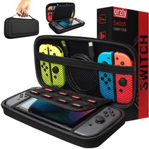 Orzly Carry Case Compatible With Nintendo Switch - BLACK Protective Hard - $20.99+
