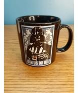 Star Wars Darth Vadar Large Coffee Cup Join Us Or Die - $9.85