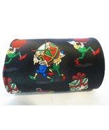 Hallmark Cards Holiday Traditions Christmas Elf Santa's Elves Gent's Tie... - $9.70