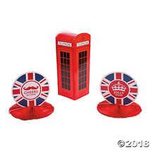FX British Theme Centerpieces (3 pc) - $7.74