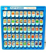 """Flip 'N Learn """"Flags of the World"""" in Excellent Condition...see photos! - $14.49"""