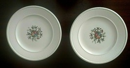 "2 (Two) Wedgwood Conway Edme creamware 8 1/4"" salad plate AK8384 ca 1949 - $29.35"