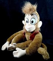 Disney Aladdin Abu Monkey 17 in Plush Vintage 1992 Mattel Vest Fez - $34.65