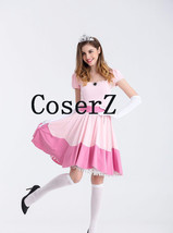 Princess Peach Costume Princess Peach Cosplay Costume - $69.00