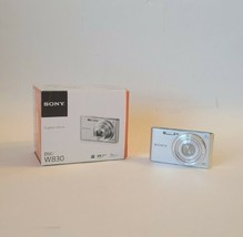 Sony Cyber-Shot DSC-W830 20.1MP Digital Camera - Silver - $60.00