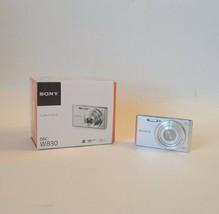 Sony Cyber-Shot DSC-W830 20.1MP Digital Camera - Silver - $60.00