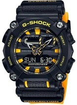 New Casio G-Shock Orange Resin Strap Men's Watch GA900A-1A9 - $94.95