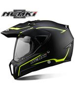 NENKI Black Motorcycle Helmet Motorcycle Full Face Helmet, Motocross, Me... - $130.00