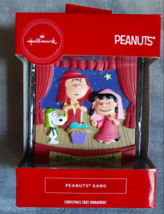 PEANUTS GANG Nativity Pageant Snoopy Charlie Brown Lucy Christmas Orname... - $14.80