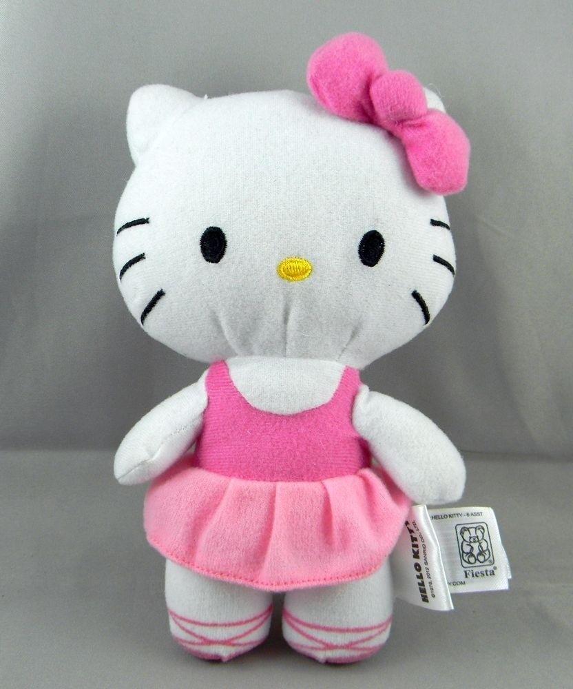 9d8dc456fa4 Fiesta Hello Kitty Plush Toy 7