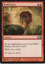 Magic The Gathering Wild Guess Card #161/249 - $0.99