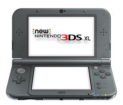New Nintendo 3DS XL Launch Edition Black Handheld System - fast ship - - $260.00