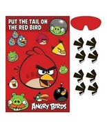 Angry Birds Movie Party Game 1 Per Package Birthday Party Supplies New - $4.90