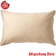 100% Organic Cotton Single Pillows Bedding Set Home Hotel Decor Standard... - $323,23 MXN