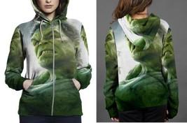 hulk the avanger poster Hoodie Zipper Women's - $48.99+