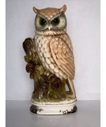 """Great Horned Owl Standing On A Branch 11 1/8"""" - $15.00"""