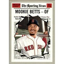 Mlb 2019 Topps Heritage #358 Mookie Betts All-Star Boston Red Sox Mnt - $1.35