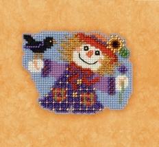 Sally Scarecrow 2017 Seasonal Autumn Harvest Series cross stitch kit Mill Hill - $7.20