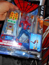 Toybiz Web Swinging SPIDER-MAN Toy w/ Lamposts + #43710 Series 2 - $34.65