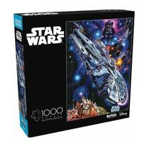 Star Wars 1000 Piece Jigsaw Puzzle Buffalo, Lando Calrissian's MILLENNIU... - $20.85