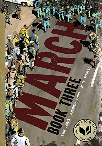 March: Book Three [Paperback] Lewis, John; Aydin, Andrew and Powell, Nate