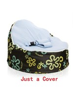 Dropshipping Baby Bean bag Portable Infantil Chair Inflatable Puff Asien... - $40.73