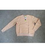 BNWT FILA Crewneck Women's Sweatshirt w/ Pockets, Size S, Color Peach, P... - $10.88