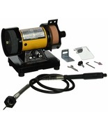 "3""  Bench Grinder w/Flex Shaft Variable speed Deburring, Grinding and Polishing - $64.52"