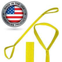 Yellow Leg Lifter, Rigid, Made in The USA, Mobility Aid for Hip Surgery, Wheelch - $13.99