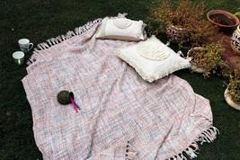 Beautiful Handmade Acraylic Throw Blanket, Boho Blanket, Decorative Sofa... - €53,47 EUR