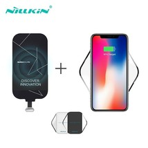Wireless Charging Kit Include Qi Wireless Charger Pad and Qi Charging Re... - $60.55