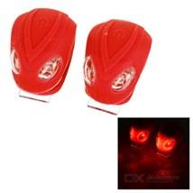 3-Mode 2-Red-LED Snake Light Bicycle Lights - Red (2*CR2032 / 2PCS) - €10,20 EUR