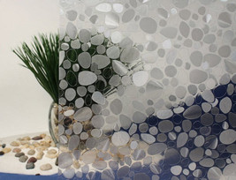 "Pebbles Cut Glass Static Cling Window Film, 36"" Wide x 50 ft - $247.45"