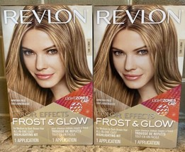 2 Boxes Revlon Color Effects Frost & Glow Honey All In One Easy Highligh... - $22.72
