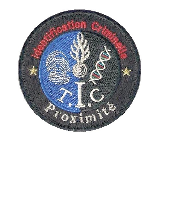 Onale identification criminelle proximite french national police csi velcro 3.75 x 3.75 in 10.99