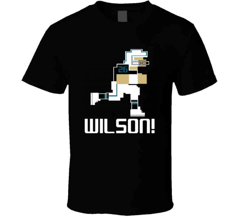 Jarrod Wilson # 26 Tecmo Bowl Jacksonville Football Athlete Fan T Shirt