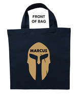 Spartan Trick or Treat Bag, Personalized Spartan Halloween Bag, Spartan Bag - $11.99+