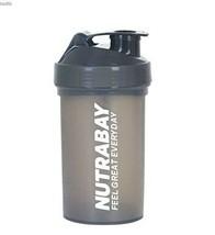 Nutrabay Protein Shaker Bottle for Gym 600 ml Shaker (Pack of 1, Black, ... - $22.18