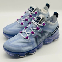 NEW Nike Air VaporMax 2019 Football Grey AR6632-023 Women's Size 7 - $207.89