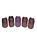 PANDA SUPERSTORE 6 Pairs Adult Non-Skid Socks for Yoga Pilates Ballet Me... - $24.19