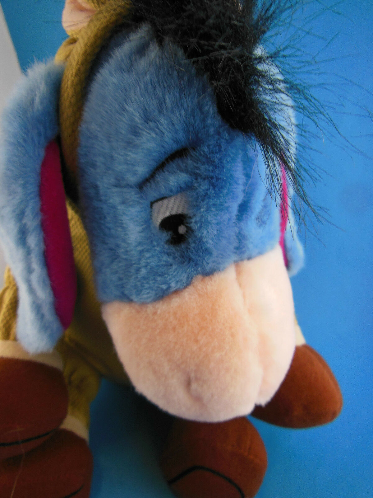 "Disney Store Eeyore in Toy Story Bullseye Costume Adorable  Plush 12"" Sitting"