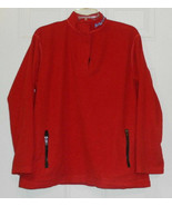 Vtg-Ralph Lauren POLO Red Fleece ski Size Men's Large L Polo Jeans Co. - $24.74