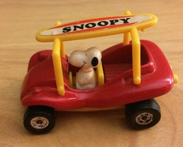Vintage Snoopy Car Surfboard Peanuts Made in Hong Kong - $9.40