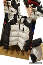 $349 NWT Men's Polo Ralph Lauren Duck DOWN Fill Jacket Big Pony White Black - $299.99