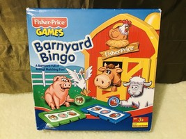Fisher-Price Mattel Barnyard Bingo Game in Box Lot #2 - $34.65